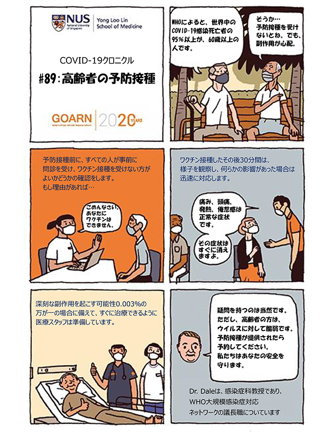 高齢者の予防接種